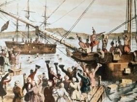Boston Tea Party - American Revolution - HISTORY.com | American Revolution | Scoop.it