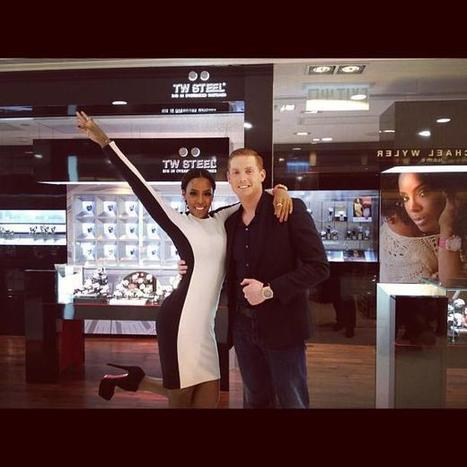 Kelly Rowland visited our store in Hong Kong yesterday together with TW Steel CE... | TW Steel Watches | Scoop.it