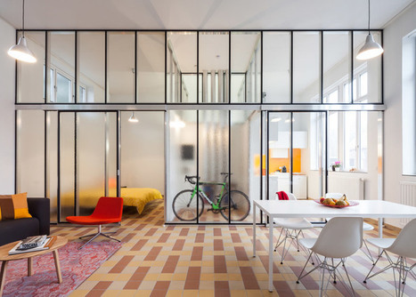 Lieven Dejaeghere creates affordable apartments inside the classrooms of an old Belgian school | @FoodMeditations Time | Scoop.it