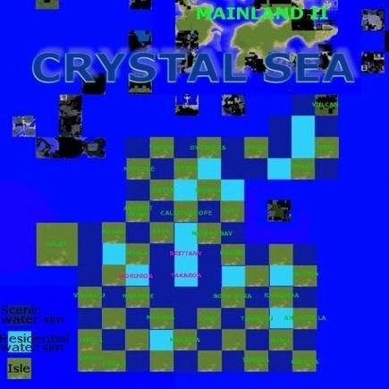 New Scenic Sims Avilable & Calia Estates Create The Crystal Sea | InWorldz Fun | Scoop.it