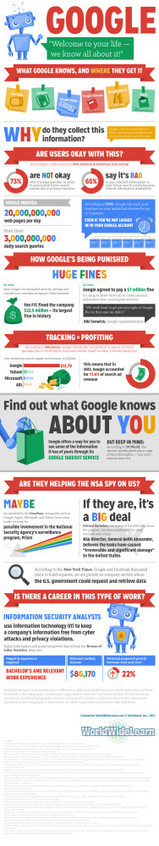 Google: Welcome To Your Life. We Know All About It - Infographic | Social Media Marketing | Scoop.it