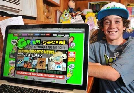 Entrepreneur, 13, social media hit with safe, kid site - Florida Today | Peer2Politics | Scoop.it