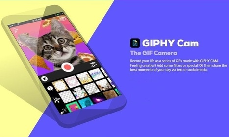 Giphy CAM: app móvil para crear originales GIFs animados | Software y Apps | Scoop.it