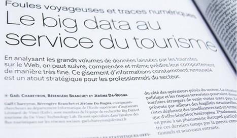 Données numériques et flux touristiques : le big data au service du tourisme | Tourisme Tendances | Scoop.it