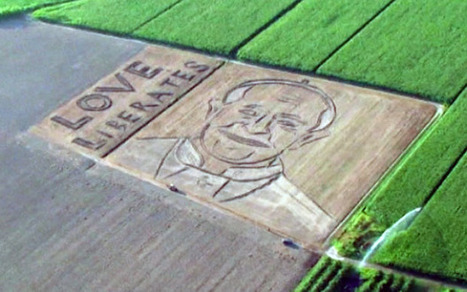 Giant pope face ploughed into field - Telegraph | Agricultural Machinery | Scoop.it