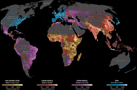 40 more maps that explain the world | Prionomy | Scoop.it