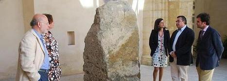Una estela del Neolítico hallada en el espigón de La Puntilla se expone ya en el museo local   Aux origines   Scoop.it