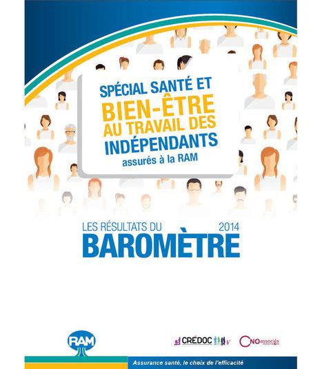 Stress et bien-être au travail des indépendants - Baromètre 2014 RAM-CREDOC | Engagement et motivation au travail | Scoop.it
