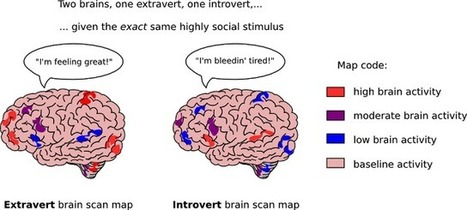 How Introverts and Extroverts Are Different - | Myers-Briggs Type Indicator® (MBTI®) | Scoop.it