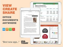 A Great App to Create and Edit Word, PowerPoint and Excel Docs on iPad ~ Educational Technology and Mobile Learning | iPads edu | Scoop.it