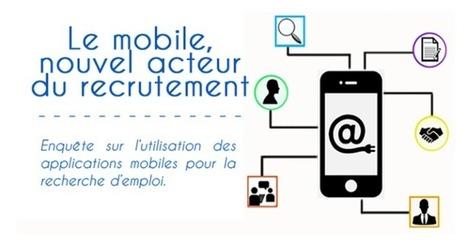 Le mobile, bientôt incontournable dans le recrutement ? | Geeks | Scoop.it