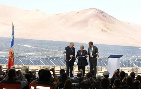 Chilean president inaugurates largest solar PV power plant in Latin America | Renewables Chile | Scoop.it
