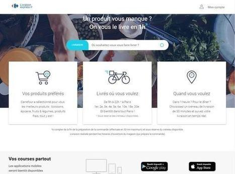 Info JDN: Carrefour lance sa riposte à Amazon Prime Now (et nous l'avons testée)   E-Com Commerce   Scoop.it
