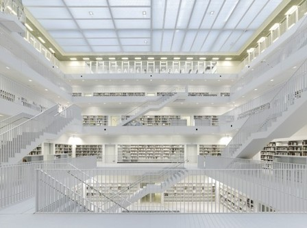 La bibliothèque de Stuttgart by Yi Architects | Le blog des tendances | BiblioLivre | Scoop.it