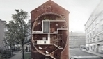 Incredibly Narrow, Futuristic Homes Built In The Gaps Between Buildings - DesignTAXI.com | Visionary Spaces | Scoop.it