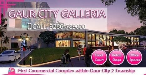 The Adorable Project Gaur City Galleria in Noida Extension | Gaur City Galleria | Scoop.it