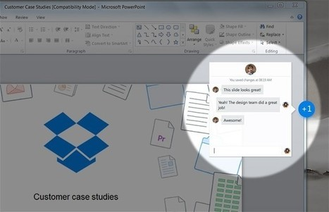 Dropbox for Business goes live to all, new collaborative feature introduced - TechSpot | Dropbox | Scoop.it