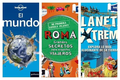 Gana un pack de Lonely Planet gracias a KangApp | P2P Tourism | Scoop.it