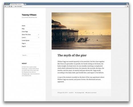 Mon top 5 des thèmes gratuits pour WordPress en 2014 | Les outils du Web 2.0 | Scoop.it