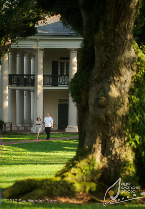 Marriage proposal at Oak Alley Plantation photographed | Erik & Stacy | Oak Alley Plantation: Things to see! | Scoop.it