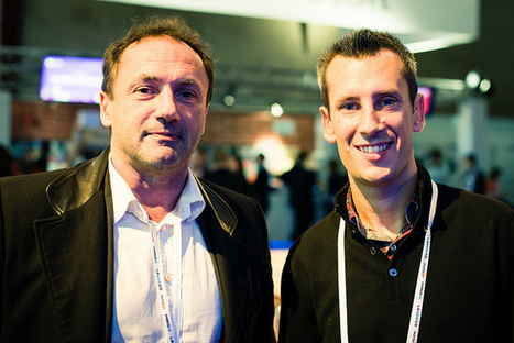 The SIGFOX Team at LeWeb12 : Ludovic le Moan, CEO & Thomas Nicholls, IoT Evangelist | SIGFOX | Scoop.it