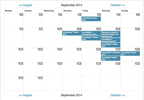 Update of Calendar Field | SobiPro - The Joomla! Directory Extension | Scoop.it