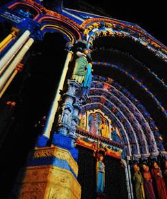 Chartres en lumières - Animations en lumières du patrimoine historique et culturel de la ville de Chartres | Mon Chartres | Scoop.it
