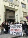 Victoire des enseigant-e-s vacataires de Lyon2 et de leur soutiens !!! | Précarité dans l'Enseignement Supérieur et la recherche | Scoop.it