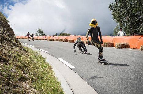 Des descentes en skate tout schuss à Peyragudes | Louron Peyragudes Pyrénées | Scoop.it