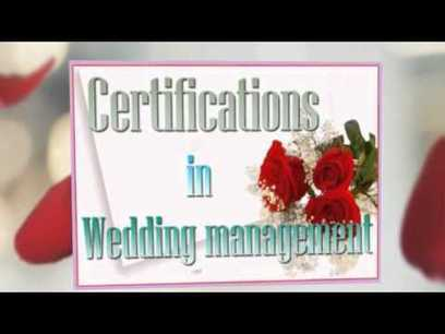 One of The Best Wedding Planning Courses You Can Do | Videos - SchoolandUniversity | Scoop.it