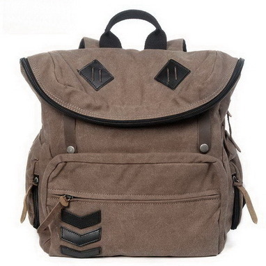 Wayfarer top fold canvas rucksack unisex from Vintage rugged canvas bags | Best mens style outlet | Scoop.it