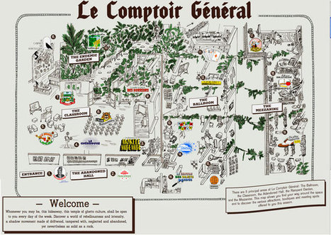 Paris' Best Hidden Gem, Le Comptoir General | Regions of France | Scoop.it