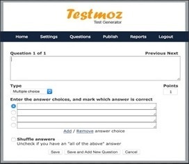 Testmoz- A Great Tool for Creating Automatically Graded Quizzes ~ Educational Technology and Mobile Learning | Coaching Central | Scoop.it