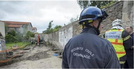Zoom sur une bombe anglaise trouvée à Nantes | Histoire 2 guerres | Scoop.it