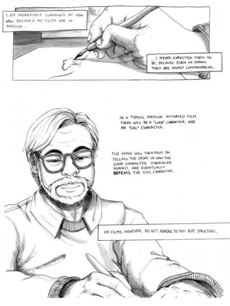 El manifiesto en cómic de Hayao Miyazaki | Cine | Scoop.it