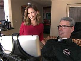 Natalie: I'm #InspiredBy man with ALS who is 'thriving' | #ALS AWARENESS #LouGehrigsDisease #PARKINSONS | Scoop.it