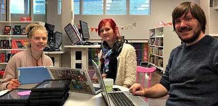 Årets skolbibliotek fungerar som ett nav för bättre undervisning | Skolbiblioteket och lärande | Scoop.it