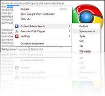Chrome-guide: Markera ord och slå enkelt i olika lexikon | Folkbildning på nätet | Scoop.it