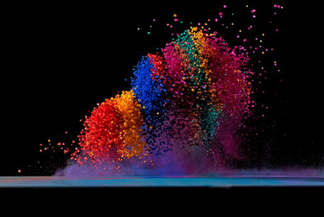 Fabian Oefner: dancing colors - making sound waves visible | designboom | Eye on concepts | Scoop.it