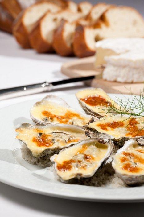 Huîtres de Normandie au Camembert | Brazilian cheeses | Scoop.it