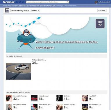 Animer sa page Facebook grâce à un classement de fans | Time to Learn | Scoop.it