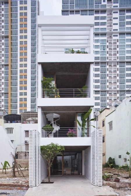 [Ho Chi Minh City, Vietnam] Anh House / S+Na. – Sanuki + Nishizawa architects | The Architecture of the City | Scoop.it