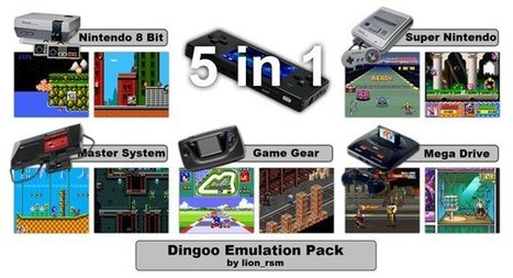 dingoo-scene: Dingoo Emulation Pack v1.3 released | [OH]-NEWS | Scoop.it