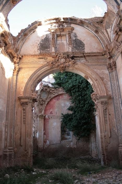 Ruins in Belchite Spain Victim of the Spanish Civil War   Exploration: Urban, Rural and Industrial   Scoop.it