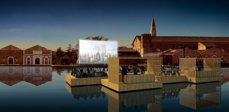 Venice Biennale 2012: Archipelago Cinema / Ole Scheeren | The Architecture of the City | Scoop.it