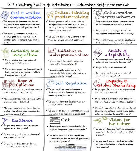 The Other 21st Century Skills: Educator Self-Assessment | 21st C Learning | Scoop.it