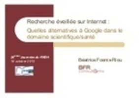 Les alternatives à Google dans le domaine scientifique