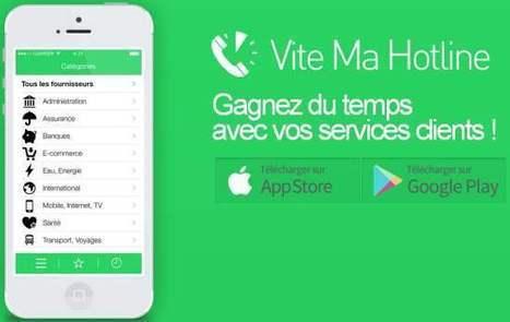 Un annuaire pour joindre les hotlines, Vite Ma Hotline   Les Infos de Ballajack   Veille 2.0 et autres outils   Scoop.it