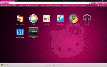 Download Hello Kitty Google Chrome Themes | laptop themes | Scoop.it
