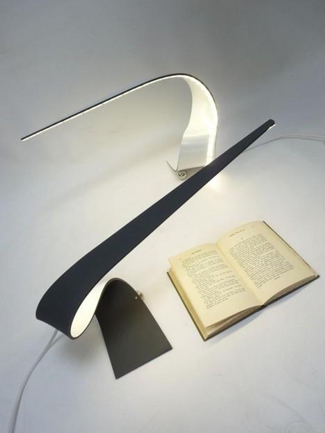 the Ruray LED desk lamp by Irish designer Shane Holland - Modern Contemporary Design – modecodesign.com | New Creations | Scoop.it